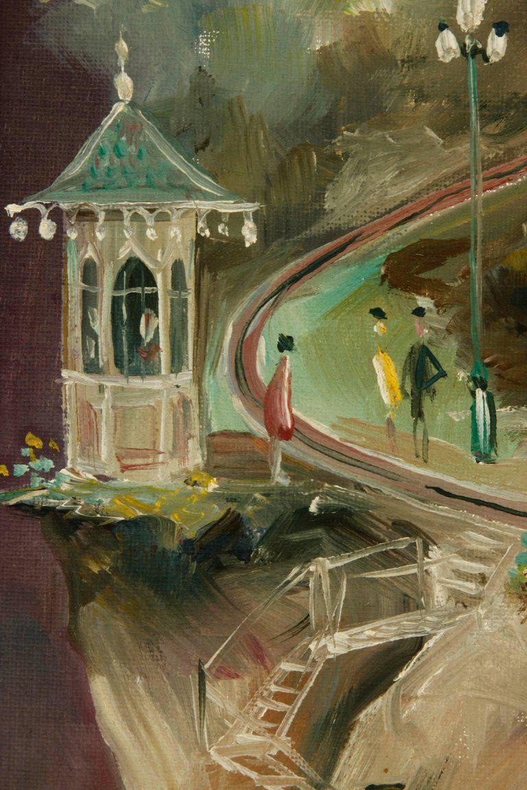 Albert Tolf San Francisco Surrealist Painting   Image 5 Of 11