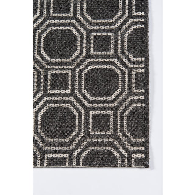 """Erin Gates Downeast Camden Charcoal Machine Made Polypropylene Area Rug 5' X 7'6"""" For Sale - Image 4 of 8"""