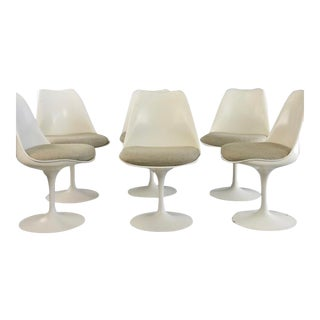Set of 6 Tulip Chairs for Knoll