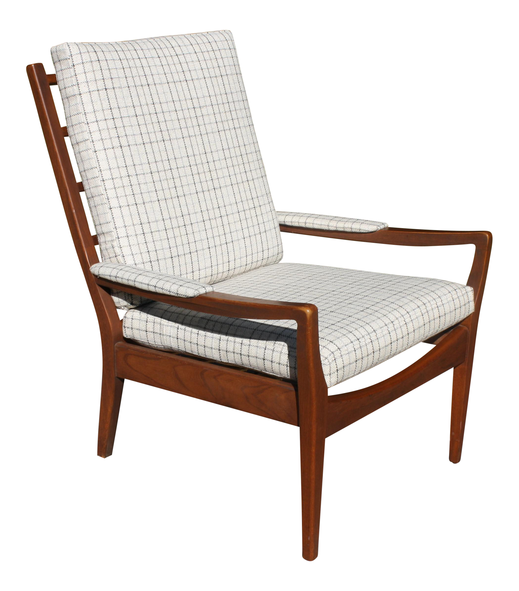 Perfect Mid Century Modern Upholstered Armchair By Paoli Chair Co. For Sale