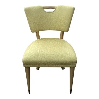 1960s Vintage Hollywood Regency Side Chair For Sale