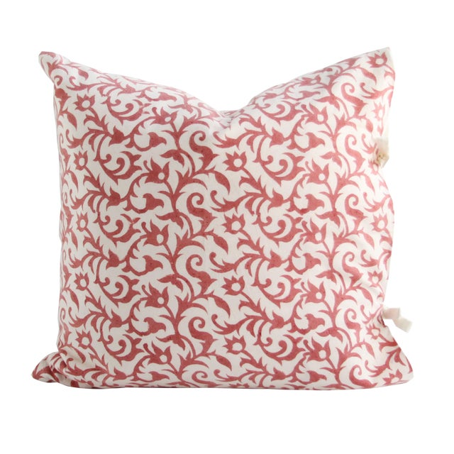 Les Indiennes Anais Throw Pillow - Image 1 of 2