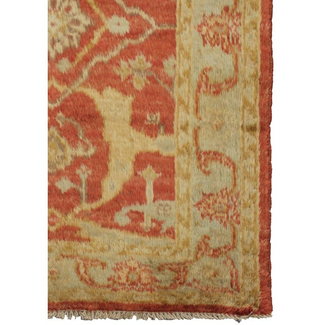 Islamic Aara Rugs Inc. Hand Knotted Fine Oushak Rug - 3′5″ × 4′10″ For Sale - Image 3 of 3