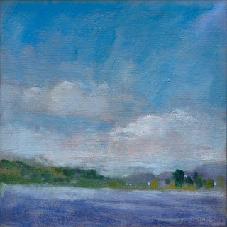 """""""Lake Carey"""" Contemporary Impressionist Style Original Print by Amy Griffith Colley For Sale"""