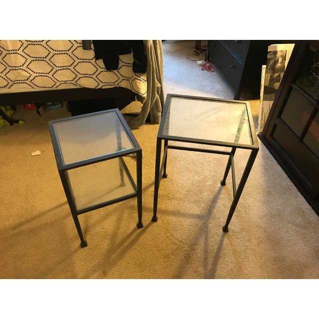 Pottery Barn Tanner Nesting Side Tables - A Pair - Image 2 of 6