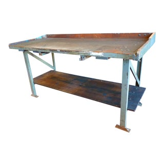 Industrial, Old Welders Workbench For Sale