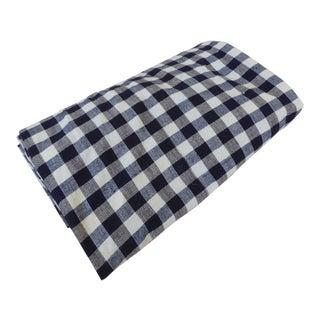 19th Century Hand-Loomed Homespun Kelsch Cloth Duvet