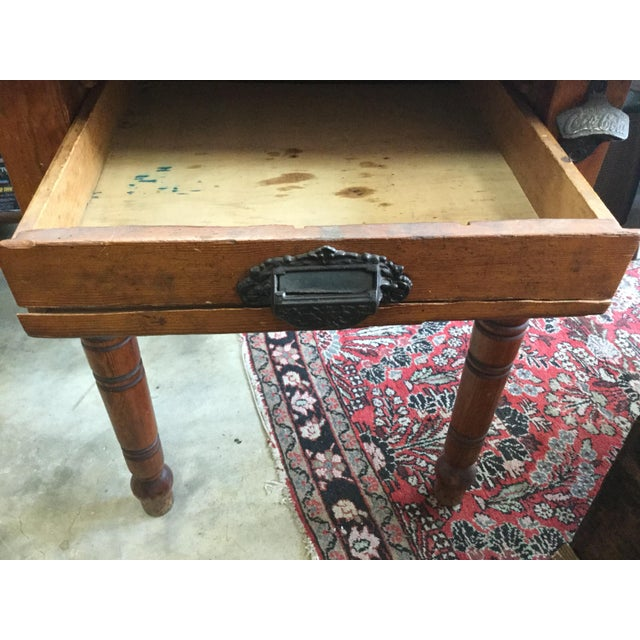 Early 20th Century 20th Century Country Flour Bin Table For Sale - Image 5 of 13