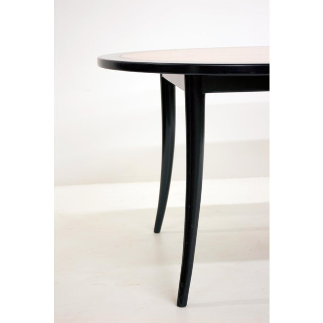 Mid-Century Modern Harvey Probber Saber Leg Dining Table For Sale - Image 3 of 6