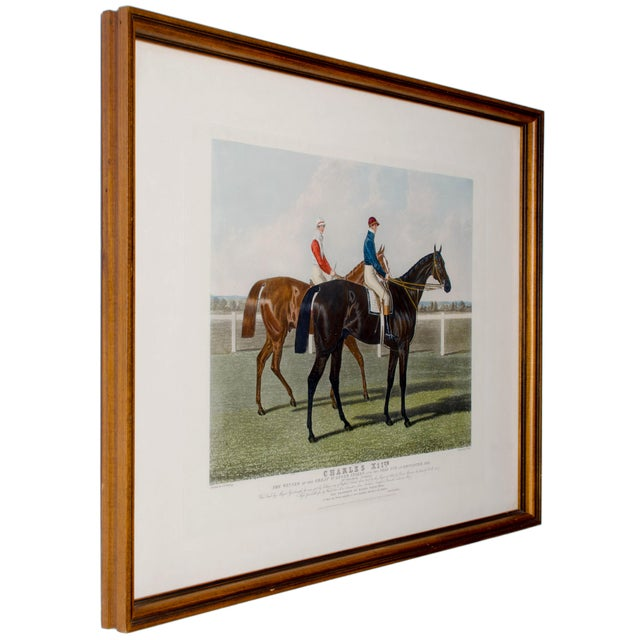Charles Hunt Race Horse Engraving - Image 2 of 4