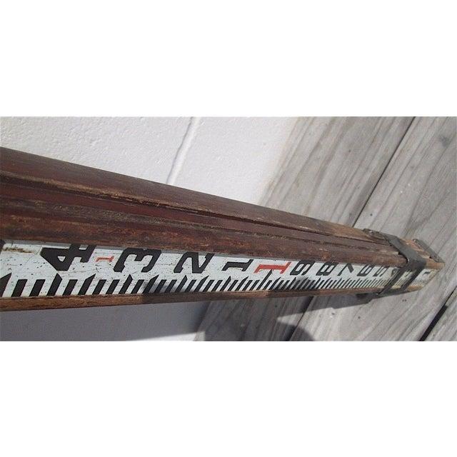 Antique Surveyor's Stick For Sale - Image 5 of 6