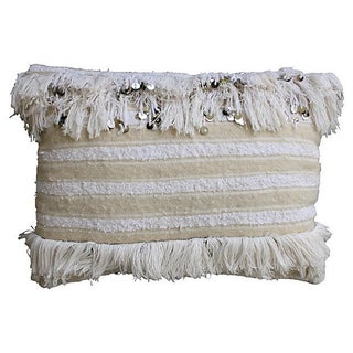 Berber Wedding Pillow With Sequins For Sale