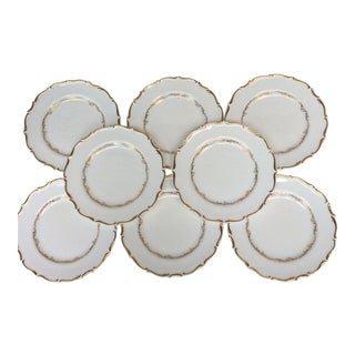 Mid-Century English Bone China Side/Bread Plates - Set of 8 For Sale