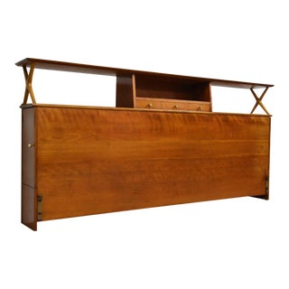 Renzo Rutili Cherry King Headboard For Sale