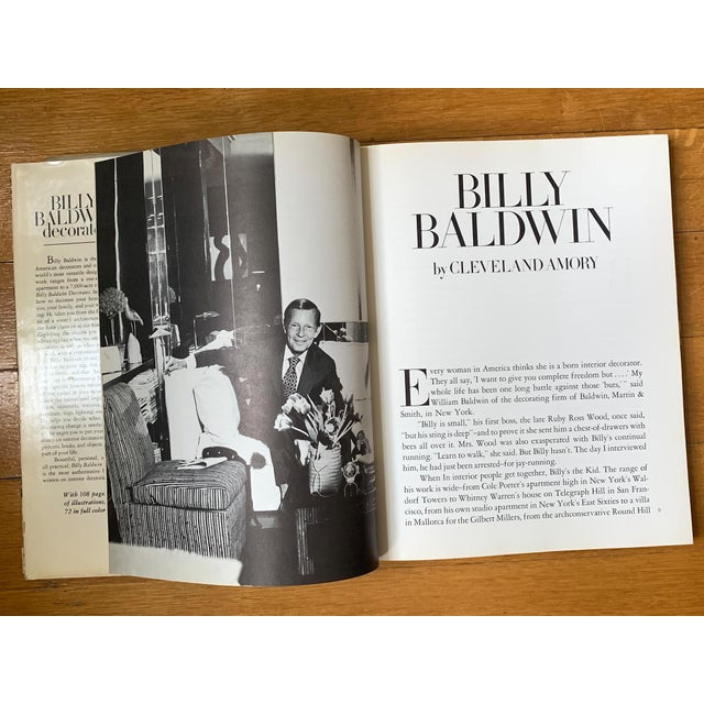 1970s Vintage 1972 Billy Baldwin Decorates Book For Sale - Image 5 of 10