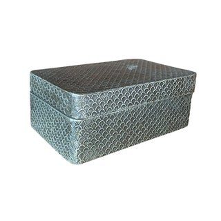 Decorative Patterned Box For Sale