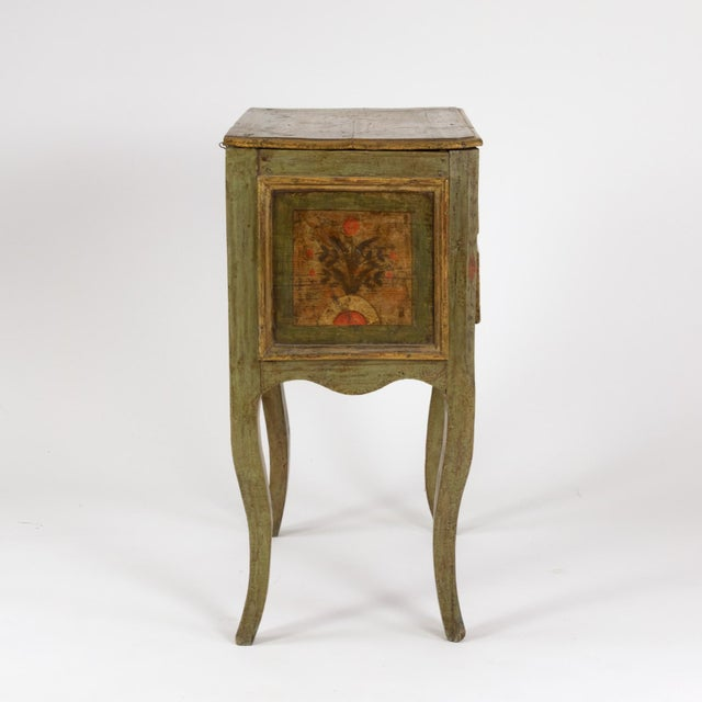 Yellow A Painted Italian Commode, Circa 1720. For Sale - Image 8 of 13