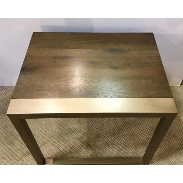 Caracole Modern Organic Caracole Artisan End Tables Pair For Sale - Image 4 of 8