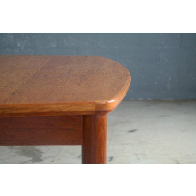 Mid-Century Modern Large Midcentury Danish Sixteen Person Teak Dining or Conference Table For Sale - Image 3 of 7