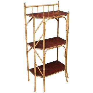 Superb 19th Century English Bamboo Book Stand For Sale