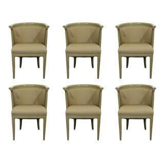 Mid-Century Modern Harold Schwartz for Romweber Dining Armchairs, 1950s - Set of 6 For Sale