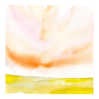 Landscape IX Original Watercolor Painting