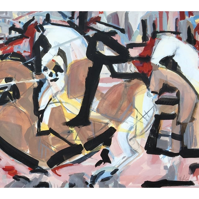 """""""The Battle"""" Painting by Heidi Lanino - Image 5 of 5"""