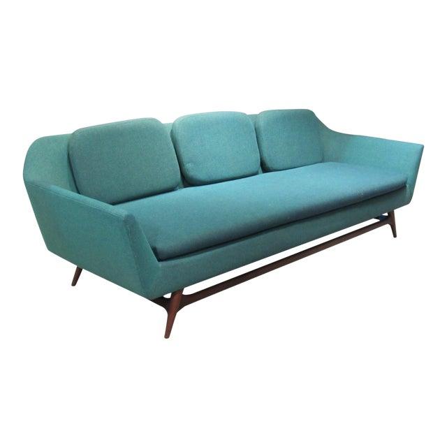 1950s Vintage Danish Modern Sofa For Sale