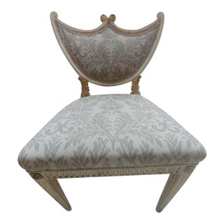 Early 20th Century Louis XVI Style Italian Side Chair For Sale