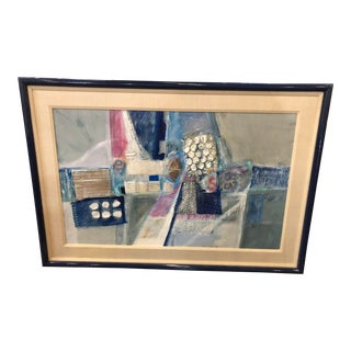 """1987 """"Copper Window Series #6"""" Painting by Craig Reheis For Sale"""