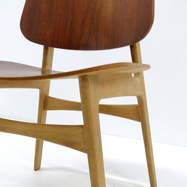 Set of 5 Børge Mogensen Dining Chairs, 1950s For Sale - Image 11 of 13
