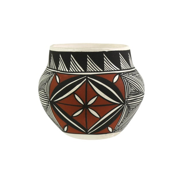 Vintage Acoma Native American Art Pottery - Image 1 of 5