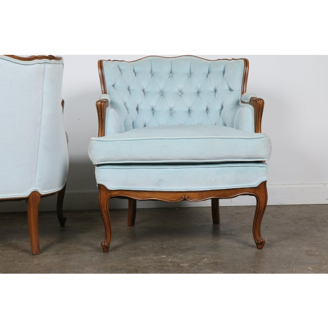 Italian-Style Chairs in Baby Blue - A Pair - Image 8 of 11