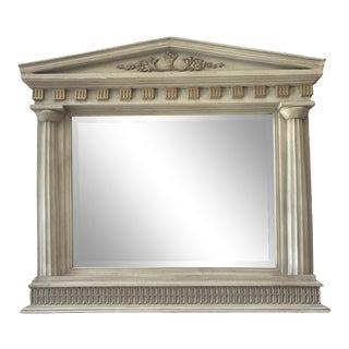 Vintage Parthenon Column Wall Mirror For Sale