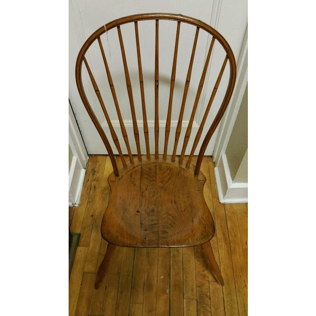 Here's a rare find, a signed Ebenezer Tracy Windsor chair. Tracy was a premiere chair maker in Connecticut during the late...