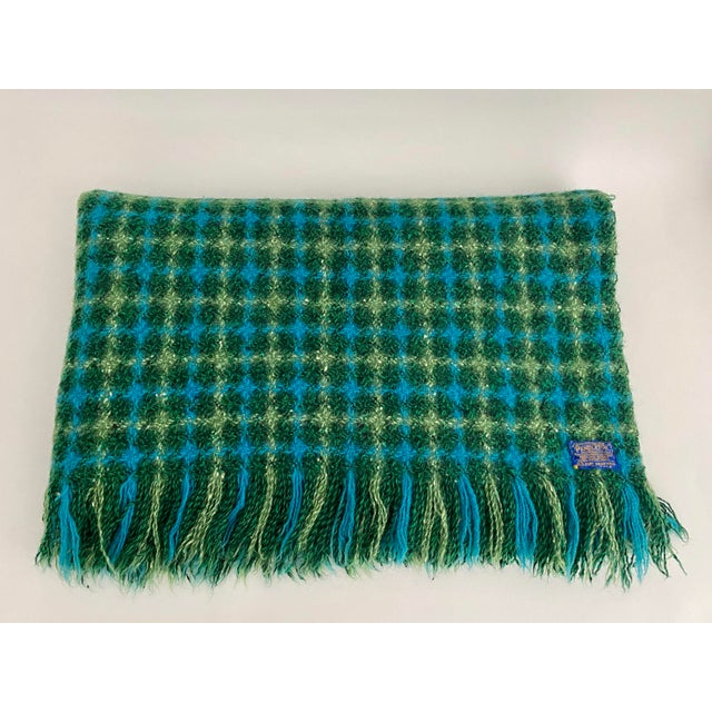1970s Mid-Century Pendleton Blanket For Sale - Image 5 of 5
