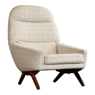 Leif Hansen Lounge Chair Danish, Midcentury For Sale