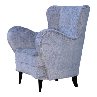 1950s Sculptural Italian Lounge Chair For Sale