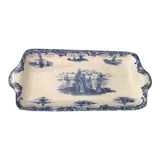 Wedgewood Hague Sandwich Platter For Sale