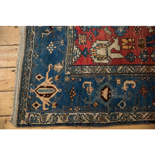 "1930s Vintage Bijar Rug - 4'10"" X 7' For Sale - Image 5 of 13"