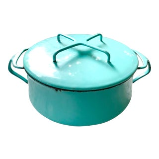 1960s Dansk Kobenstyle Cook Pot, Turquoise For Sale