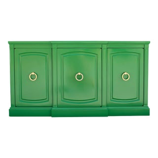 Green and Gold Sideboard For Sale