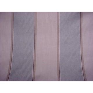 6-7/8y Romo Rg7493 Theodore Swedish Gray Herringbone Upholstery Fabric For Sale