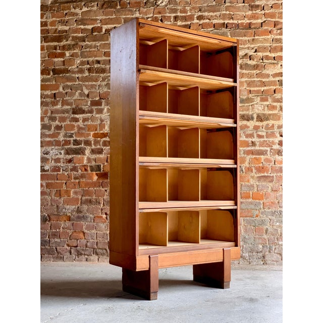 Brown Midcentury Oak Cabinet RAF Staverton circa 1956 N0 3 - A Pair For Sale - Image 8 of 12
