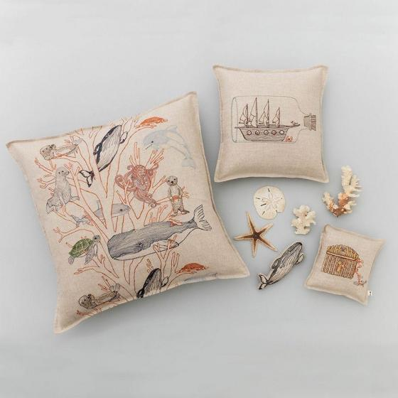 Coral Forest Pillow - Image 2 of 5