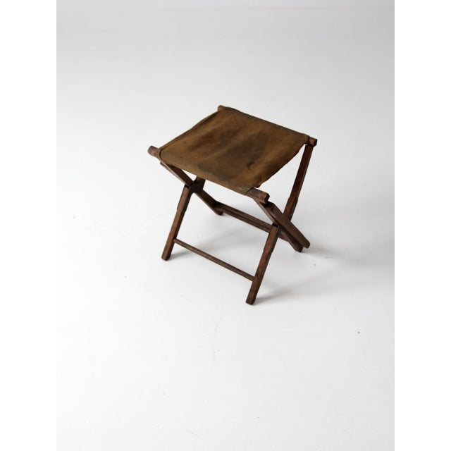 Vintage American Folding Camp Chair - Image 6 of 7