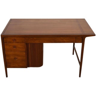 1950's Counterpoint Collection Desk W/ Tambour Door by John Van Koert For Sale