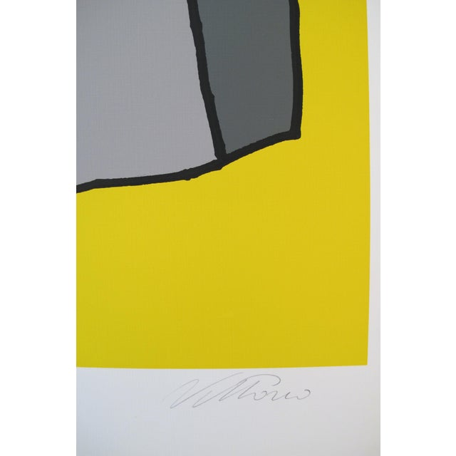 1980 Signed Exhibition Poster, Vittorio, Form and Purpose - Image 4 of 4