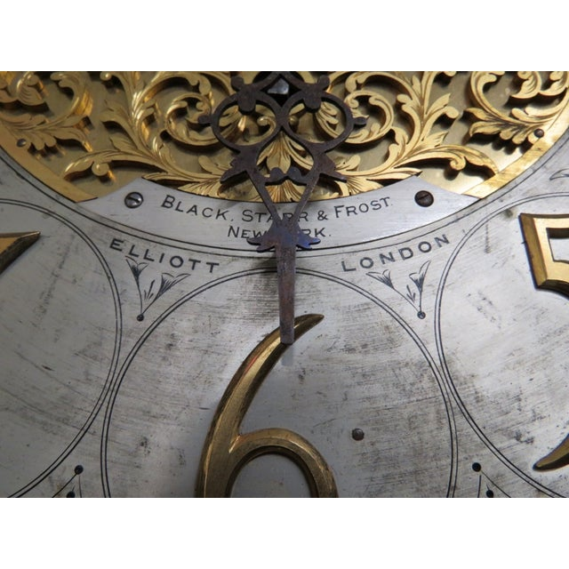 Elliot of London 9-Tube Figural Clock - Image 8 of 10