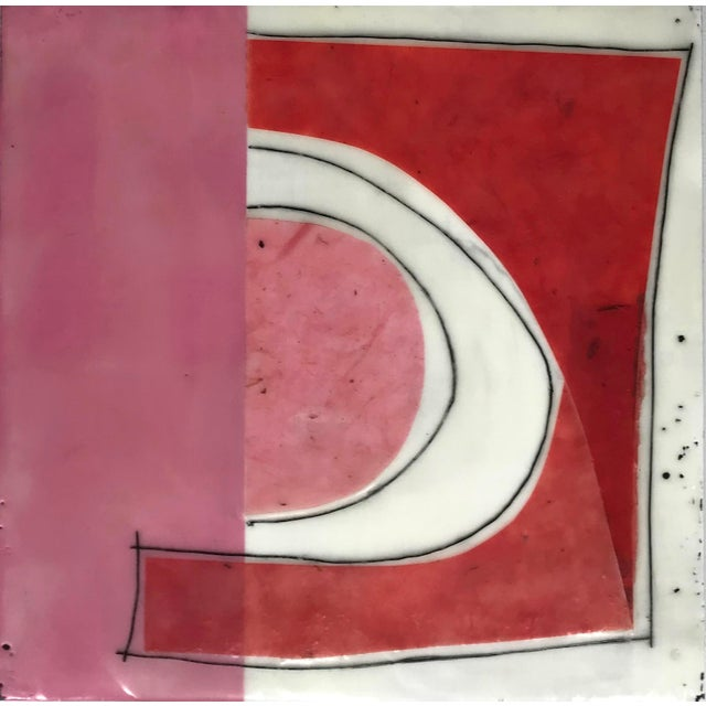 Perceptions is an ongoing encaustic collage series. This piece is 10x10x1.5 - it can be rotated and displayed a number of...